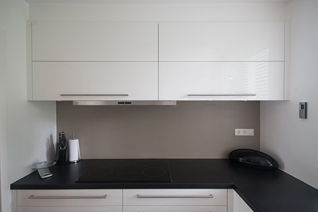 Keuken achterwand kunststof